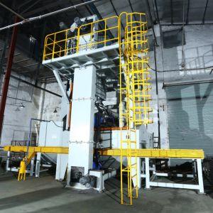 H-Beam 탄 폭파 콘테이너 또는 탄 모래 분사 기계 또는 자동적인 탄 폭파 기계
