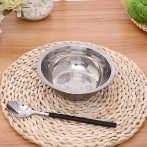18cm Hot les ventes de plaques de Yiwu plats en acier inoxydable