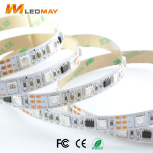 Striscia magica dell'indicatore luminoso di colore di SMD5050 48LEDs/m WS1903 CI per l'indicatore luminoso di natale