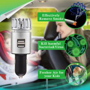 Автомобиль аниона очиститель воздуха для очистки воздуха кислородный бар ионизатор освежитель воздуха снимите дым чистого воздуха