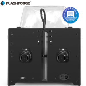 A FDM extrusora dupla Flashforge Impressora 3D para PLA ABS