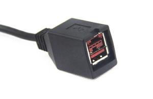 Custom 24V на женщин и мужчин USB+hda 44p кабель питания принтера