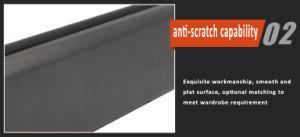 B73多色刷りのアーチの適正価格のハードウェアのアクセサリのワードローブのための流行のアルミ合金の管