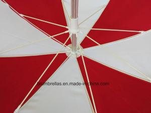 Bello meccanismo di inclinazione dell'ombrello di spiaggia della frangia dei 2 tester per esterno/spiaggia/raggruppamento