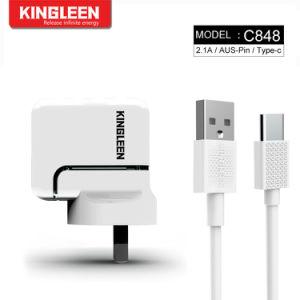 Модель C848 Двойной порт USB зарядное устройство подходит для типа C