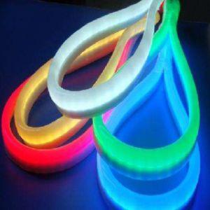 Brilho 5050/2835/3014/3528 Faixa de luz néon LED ajustável (conector)