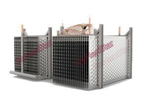 돋을새김된 디자인 스테인리스 격판덮개 열교환기 낭비자 물 열교환기