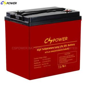 6V225ah de vrije Navulbare Batterijen van het Onderhoud voor ZonneVorkheftruck/Veger