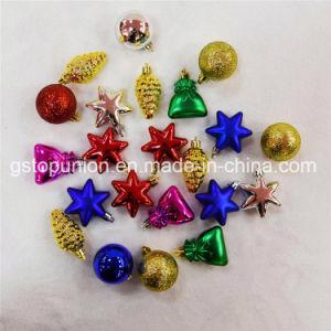 Caja de regalo mezcla de decoración de Navidad Bolas de plástico G65
