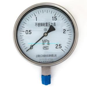 Fabricante, Buen Precio 4'' de vapor de aceite de aire a los golpes de acero inoxidable Manómetro