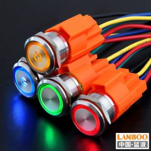 12 мм 16 мм 19 мм 22 мм 30 мм 400мм водонепроницаемый кнопочный переключатель на заводе прямые продажи кнопку переключателя из нержавеющей стали с кнопочный выключатель производителя
