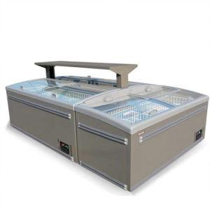 LED 점화 냉장고 아이스 캔디 해산물 전시 냉장고