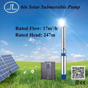 18,5kw 6 polegadas bomba submersível solar, furo bem, Bomba de irrigação,