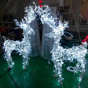 05ed3ef1f24 Nueva Iluminación LED Motif pequeño ciervo LED luces de Navidad ...