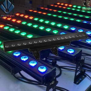 高い発電18X10W RGBW4in1の穂軸LED棒ピクセル壁の洗濯機ライト