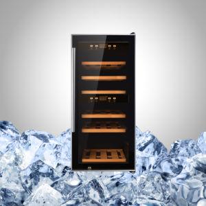 ガラスドアが付いている装飾的なワイン冷却装置