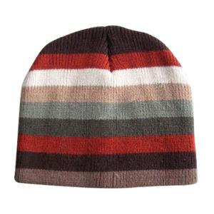 ふさ(JRK108)が付いている冬の編む帽子そしてスカーフ