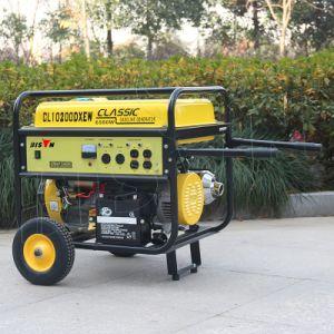 Bison (China) BS6500s (H) 5KW de fio de cobre de 5kVA Air-Cooled 13HP gasolina gerador silenciosa para uso doméstico
