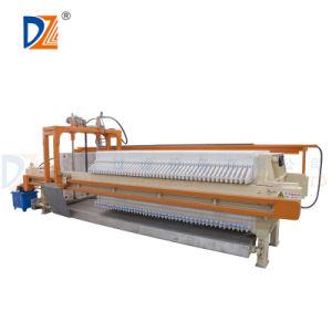Los filtros de tratamiento de agua de filtro prensa de la cámara automática