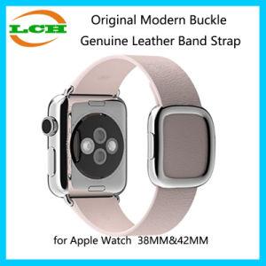 De originele Moderne Riem van de Band van het Leer van de Gesp Echte voor het Horloge van de Appel