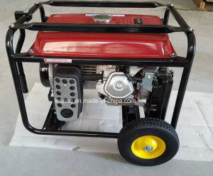 Generador de gasolina de ruedas y mango Powered by Original MOTOR HONDA GX390