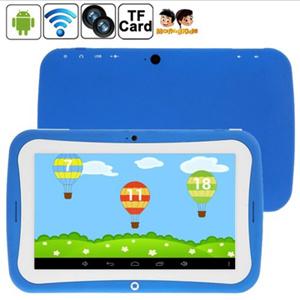 PC di Tablet dei bambini (7.0 pollici Android 4.2, 1GB RAM + 8GB ROM, CPU: Rockchip RK3028 si raddoppia memoria)
