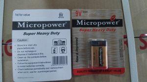 Superhochleistungsbatterie 6F22P/9V