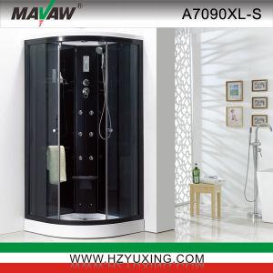 Cabina de ducha de negro (A7090XL-S)