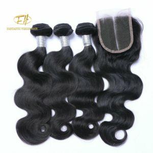100% non transformés brésilien/Indian Virgin/Remy Cheveux humains avec des couleurs naturelles