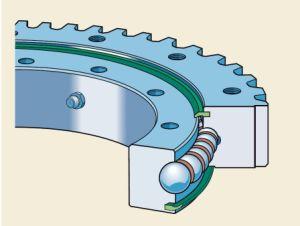 Rollix trompo el anillo el cojinete de rodamiento giratorio engranaje externo el 31 de 0411 01