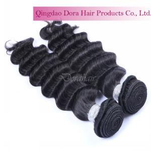 Cutícula Tecelagem grossista Remy de cabelo humano Prorrogação da marta Cabelo Virgem Brasileira