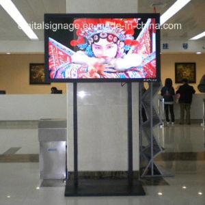 Video fissato al muro dell'interno dell'affissione a cristalli liquidi da 55 pollici grande