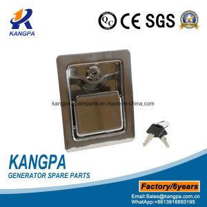 Cerradura de puerta de la carretilla de acero inoxidable