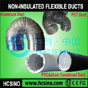 PVC & aluminium Conduits flexibles complexe flexible/flexibel conduit non isolées