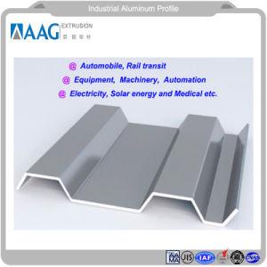 Perfil de extrusión de materiales de construcción para uso industrial y construcción de uso