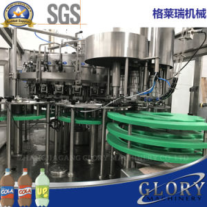 2000-20000bph automatique de boissons gazeuses de l'eau de l'embouteillage de la machine avec l'enrubannage