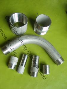 L'acciaio inossidabile 2 316 DIN2999 chiude il capezzolo dal tubo