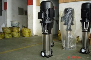 Pompe en acier inoxydable en ligne verticale
