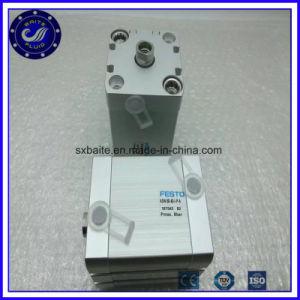 アルミニウム圧縮空気シリンダーコンパクト空気ピストンシリンダー管