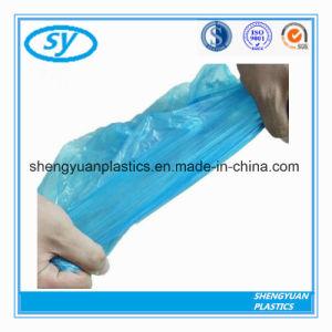 Le PEHD/LDPE sac à ordures recyclées de couleur