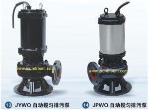 La bomba eléctrica sumergible de aguas residuales 200 Wq 250-35-55