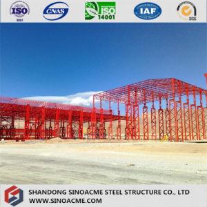 La estructura de acero pesado edificio para el Taller Industrial