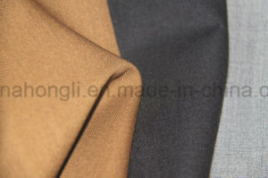 Sarjado T/R tecido, 65%35 poliéster%Rayon, 190gsm