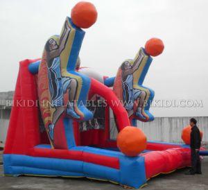 La fiebre del baloncesto inflables Juegos de Disparos B6042