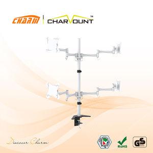 중국 공급자 텔레비젼 책상 회전대 마운트 (CT-LCD-DS1006)