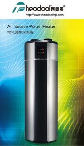 El doble de energía calentador de agua por bomba de calor