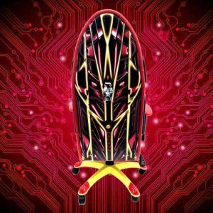 Het Rennen van de Stoel van het Spel van de Staaf van Internet de Stoel van de Computer van de Stoel kan het Ontwerp aanpassen