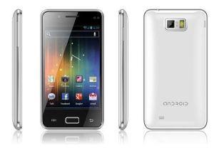 Android 4.0, 3G (WCDMA) +GSM,4.3inch WVGA Емкостный Multi-Touch экрана мобильного телефона