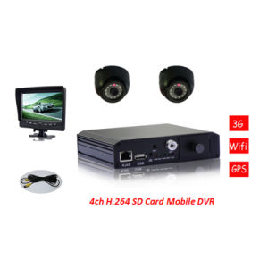 4CH Sd Mobile DVR Vehicle DVR mit Remote Control