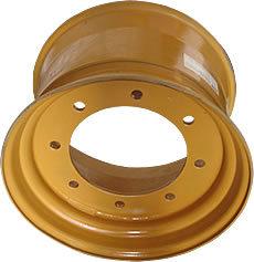 スキッドのタイヤの最大ブランドのための鋼鉄車輪